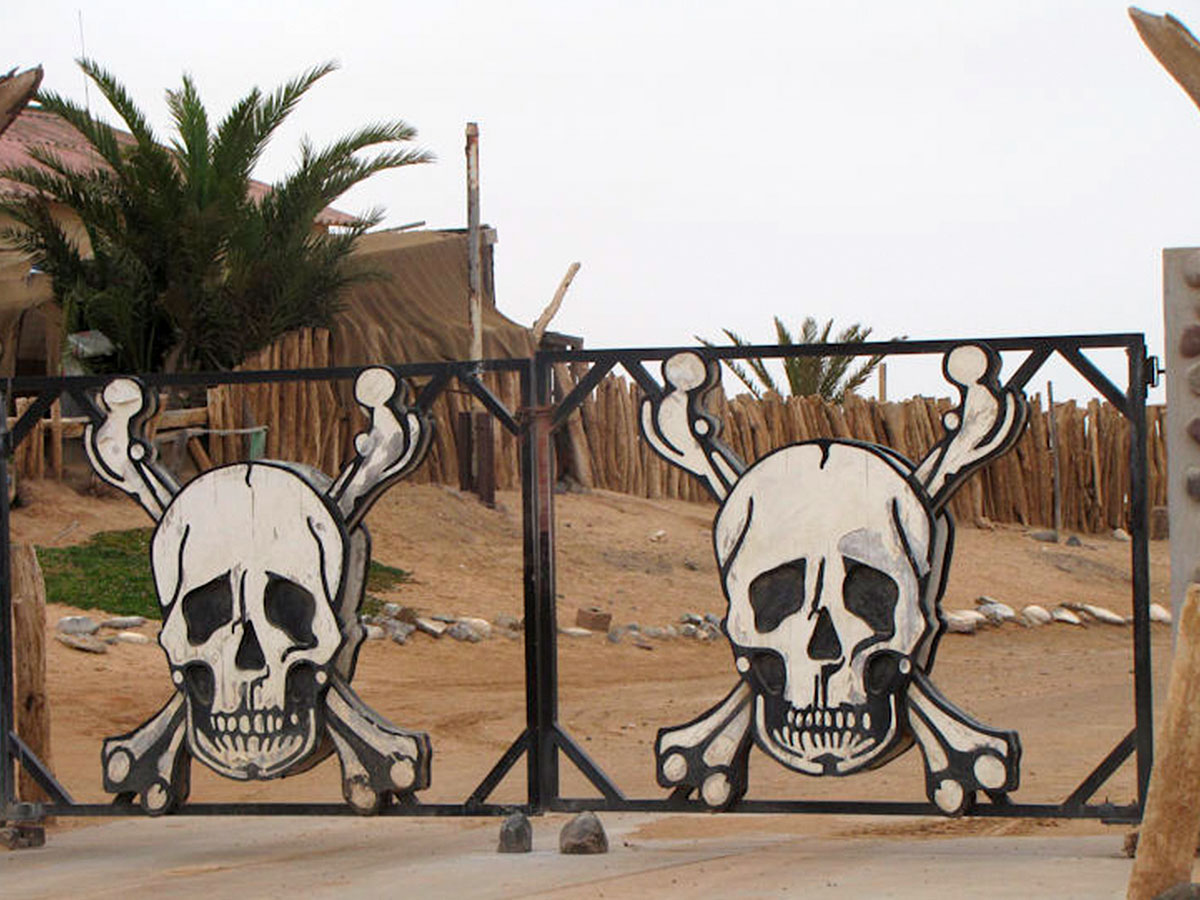 A Skeleton Coast welcome